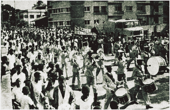 March against the Bandits, 1983