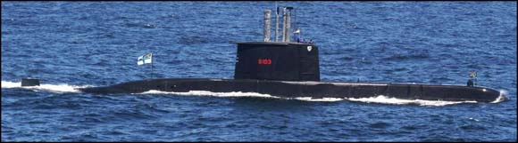 A South African submarine