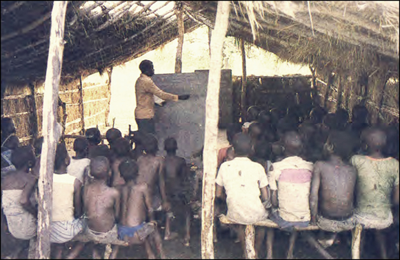 Children in Renamo Classroom