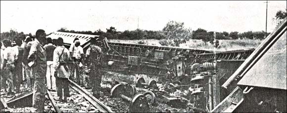 Train attack aftermath