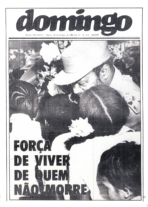Cover of the weekly Domingo