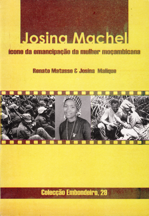 Cover of book on Josina Machel